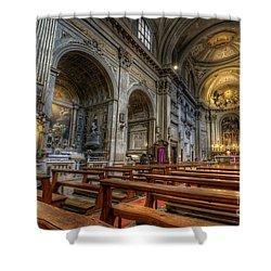 San Vincenzo Trevi 2.0 Shower Curtain by Yhun Suarez