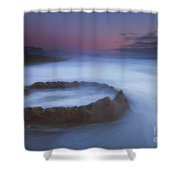 Sand Castle Dream Shower Curtain by Mike  Dawson