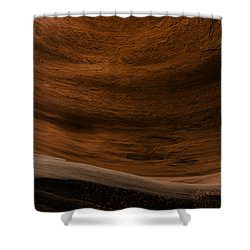 Sandstone Flow Shower Curtain by Chad Dutson