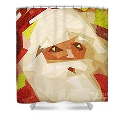Santa Claus Shower Curtain by Setsiri Silapasuwanchai