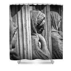 Sarcophagus Of The Crying Women Shower Curtain by Taylan Soyturk