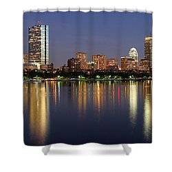 Saturday Night Live In Beantown Shower Curtain by Juergen Roth