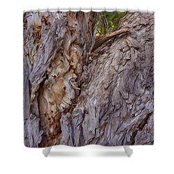 Scarred And Beautiful Shower Curtain by Omaste Witkowski
