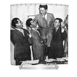 Schechter Case 1935 Shower Curtain by Granger