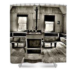 School Room Shower Curtain by Kathleen Struckle
