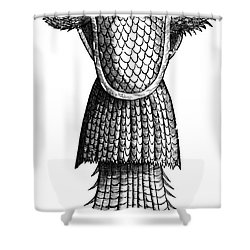 Sea Monk, Legendary Creature Shower Curtain by Photo Researchers