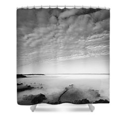 Sea Of Fog Shower Curtain by Anne Gilbert