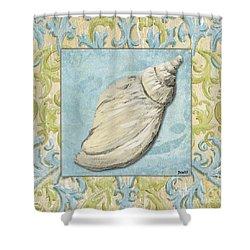 Sea Spa Bath 2 Shower Curtain by Debbie DeWitt