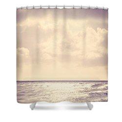 Sea Sparkle Shower Curtain by Lyn Randle