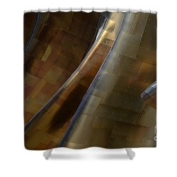 Seattle Emp Building 5 Shower Curtain by Bob Christopher