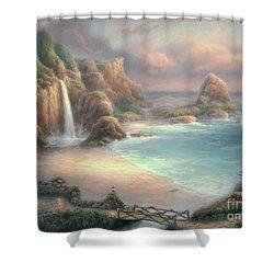 Secret Place Shower Curtain by Chuck Pinson