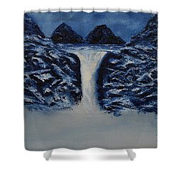 Secret Places Shower Curtain by Shawn Marlow