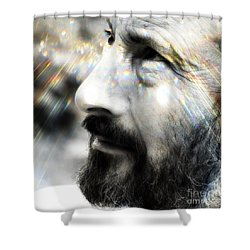 Seeing Into The Future 2 Shower Curtain by Rory Sagner