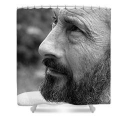 Seeing Into The Future Shower Curtain by Rory Sagner