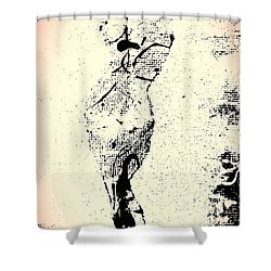 Self Realization Shower Curtain by Jacqueline McReynolds
