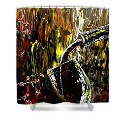 Sensual Moments Shower Curtain by Mark Moore