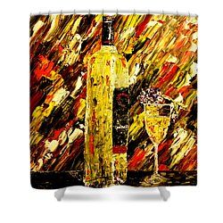 Sensual Nights  Shower Curtain by Mark Moore