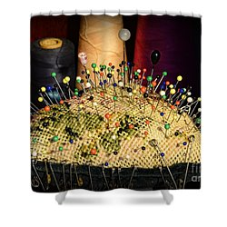 Sewing - The Pin Cushion Shower Curtain by Paul Ward