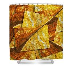 Shades Of Autumn Shower Curtain by Jack Zulli