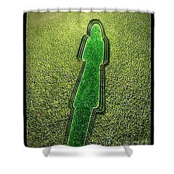 Shadow Of Life No.28 Shower Curtain by Fei A