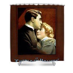 Sherlock Holmes Shower Curtain by Terry Reynoldson