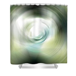 Shimmer - Energy Art By Sharon Cummings Shower Curtain by Sharon Cummings