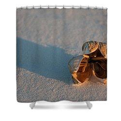 Silence Shower Curtain by Ralf Kaiser