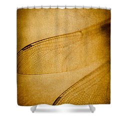 Silent Wings Shower Curtain by Jan Bickerton
