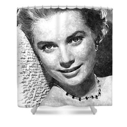 Simply Stunning Grace Kelly Shower Curtain by Florian Rodarte