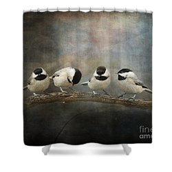 Sisterhood Shower Curtain by Jai Johnson