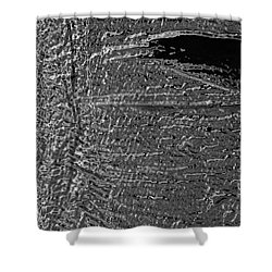 Skin No.18 Effect Shower Curtain by Fei A