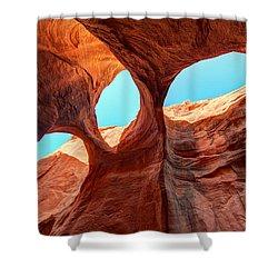 Sky Lights Shower Curtain by Dustin  LeFevre