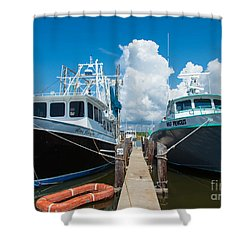 Slip 29 Shower Curtain by Susie Hoffpauir