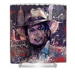 Smooth Criminal Shower Curtain by Bekim Art