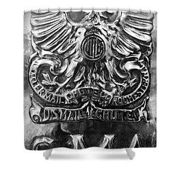 Snail Mail Shower Curtain by James Aiken