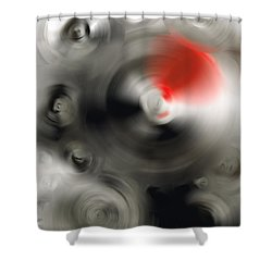 Soft Dance - Abstract Art By Sharon Cummings Shower Curtain by Sharon Cummings