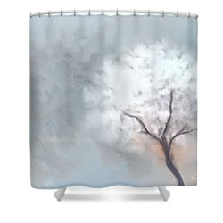 Soft Dream Shower Curtain by Kume Bryant