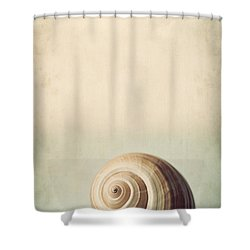 Sojourn Shower Curtain by Amy Weiss