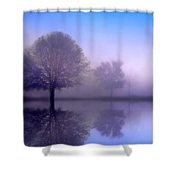 Sonata Shower Curtain by Jessica Jenney