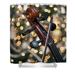 Songs Of Joy Shower Curtain by Edward Kreis