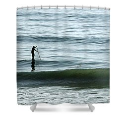 Soul Searcher Shower Curtain by Shoal Hollingsworth