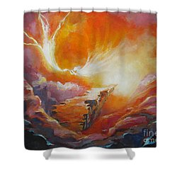Sound Of Heaven Shower Curtain by Tamer and Cindy Elsharouni