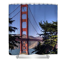 South Tower Shower Curtain by Bill Gallagher