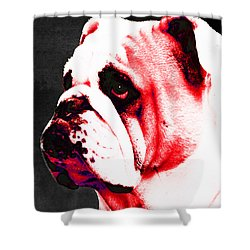 Southern Dawg By Sharon Cummings Shower Curtain by Sharon Cummings
