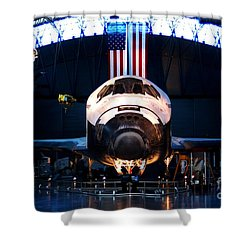Space Shuttle Discovery Shower Curtain by Patti Whitten