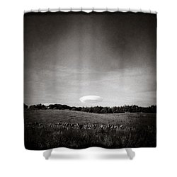 Spaceship Shower Curtain by Dave Bowman