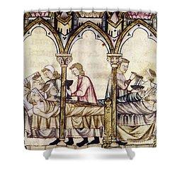 Spain: Medieval Hospital Shower Curtain by Granger