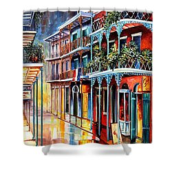 Sparkling French Quarter Shower Curtain by Diane Millsap
