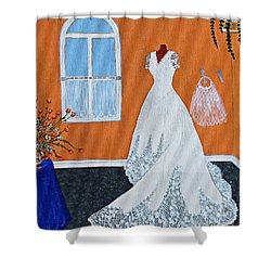 Special Day Shower Curtain by Barbara Griffin
