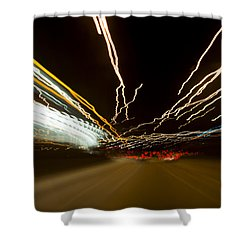 Speed Shower Curtain by Sebastian Musial